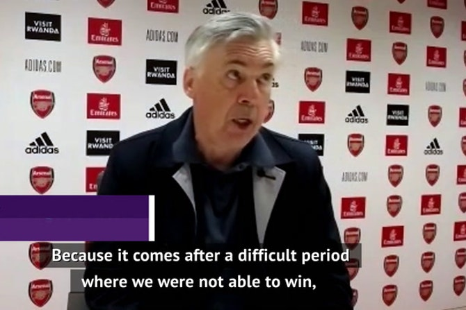 A vital three points, but lucky with VAR decisions - Ancelotti