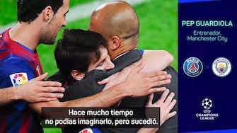 """Imagen de vista previa para Guardiola: """"Ojalá que Messi pueda jugar"""""""