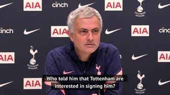 Preview image for Mourinho: 'Who told Ozil that Spurs are interested in him?'