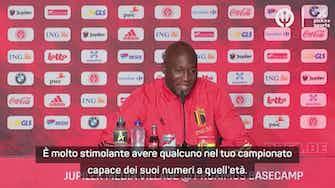 """Anteprima immagine per Lukaku e la sfida con CR7: """"Eccezionale, ma il campionato l'abbiamo vinto noi"""""""