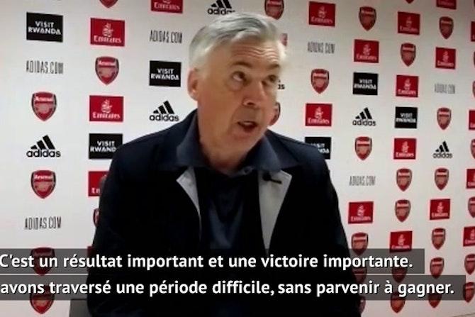 """32e j. - Ancelotti : """"Le match nul aurait été plus équitable"""""""