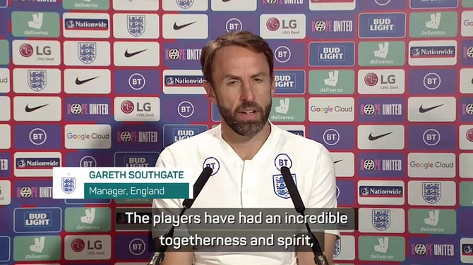 Preview image for Southgate condemns 'unforgivable' racist abuse of England players
