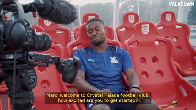 Preview image for Marc Guehi's first Crystal Palace interview