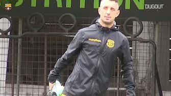 Imagen de vista previa para Damián Díaz regresa a los entrenamientos de Barcelona SC