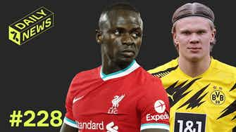 Preview image for Mane fight overshadows Liverpool win! + Barca's Haaland alternative