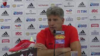 Imagem de visualização para Renato explica a pouca quantidade de chutes no time do Flamengo