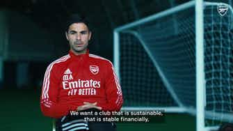 Preview image for Arteta explains Arsenal's strategy of signing young stars