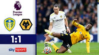 Vorschaubild für Rettender Elfmeter für Leeds   Leeds United - Wolverhampton 1:1