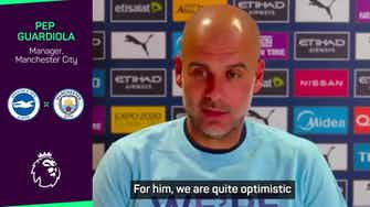 Preview image for Guardiola sends support to attacked City fan