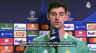 Preview image for Thibaut Courtois: 'This team is full of goals and in the end it came'