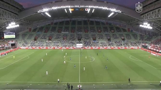 Imagen de vista previa para Resumen del amistoso entre España y Japón