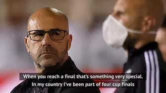 Preview image for Bosz saddened Leverkusen fans won't get German Cup final experience