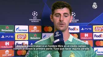 Imagen de vista previa para Thibaut Courtois: 'Hay que tener fe porque este equipo tiene gol y al final ha llegado'
