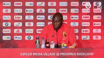 """Image d'aperçu pour 8es - Lukaku : """"Henry nous parle beaucoup plus maintenant"""""""
