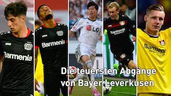 Vorschaubild für Top 5 der teuersten Leverkusen-Abgänge: Bailey auf Platz zwei