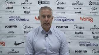 Imagem de visualização para Sylvinho explica escalação do Corinthians na derrota no Morumbi
