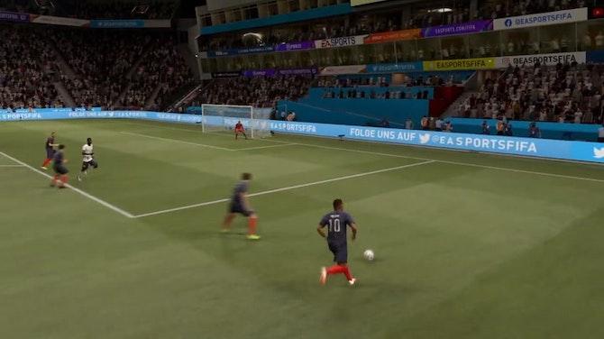 L'énorme raté de Benzema contre l'Allemagne ! (FIFA)