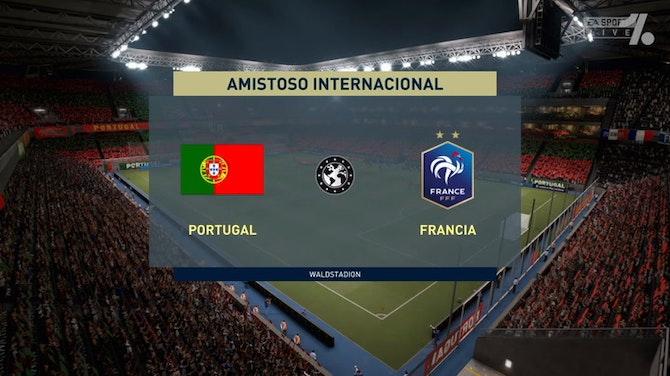 Imagen de vista previa para Francia Y Portugal, partidazo por un pase