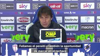 """Imagen de vista previa para Conte explica la derrota: """"Un partido extraño"""""""