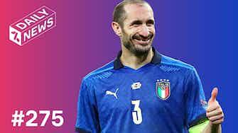 Vorschaubild für Italien ist Europameister! Messi holt den Copa!