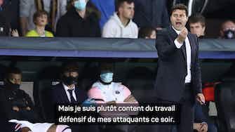 Image d'aperçu pour Gr. A - Pochettino défend son trio Neymar/Mbappé/Messi