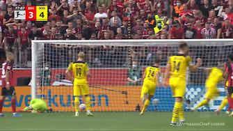 Imagem de visualização para Erling Haaland with a Penalty Goal vs. Bayer Leverkusen