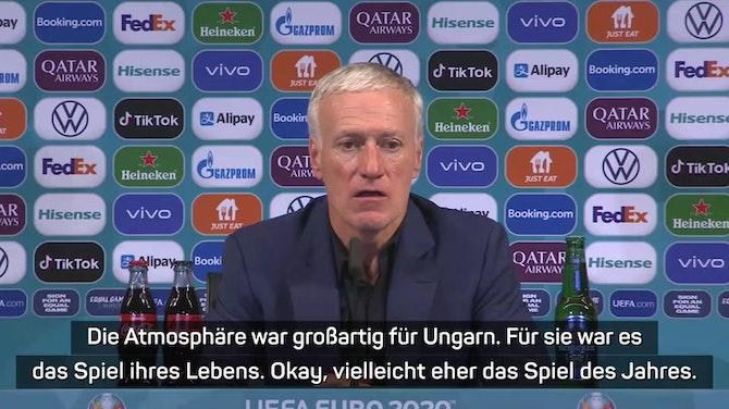"""Deschamps: Für Ungarn """"das Spiel des Jahres"""""""