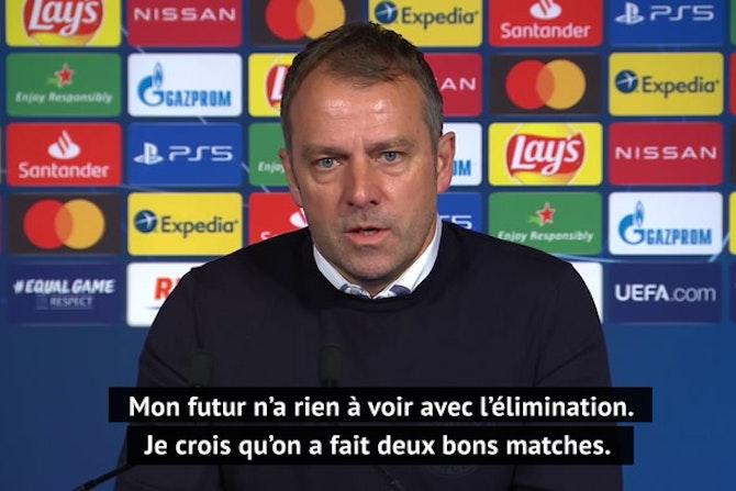 """Quarts - Flick : """"On doit féliciter le PSG"""""""