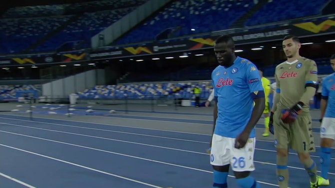 Preview image for Napoli players pay tribute to Maradona