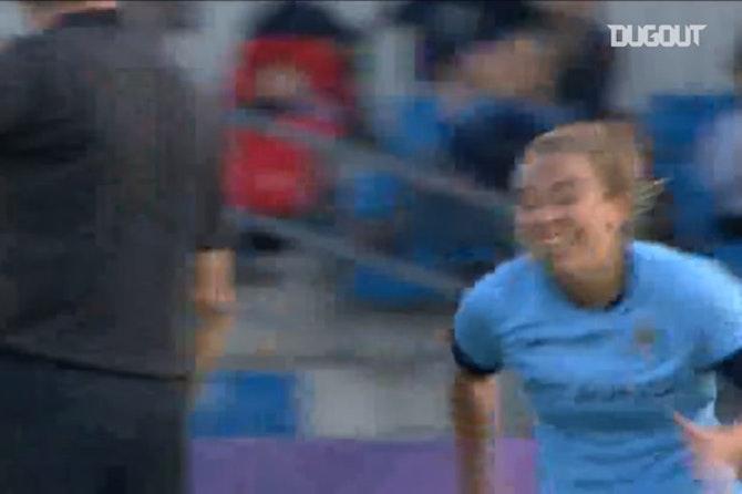 Duggan's stunning volley vs Chelsea