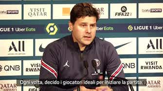 """Anteprima immagine per Pochettino: """"Cambio Messi? Penso solo al bene della squadra"""""""