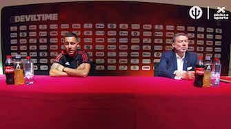 """Image d'aperçu pour Belgique - Hazard : """"Je suis heureux pour Benzema"""""""