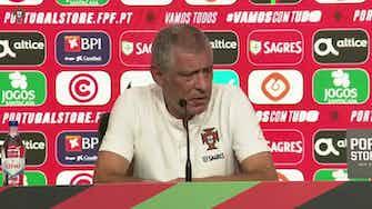 """Imagem de visualização para """"Cristiano Ronaldo está muito motivado"""", diz técnico de Portugal"""