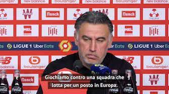 """Anteprima immagine per Galtier: """"Con il Lens un derby che vale un titolo"""""""