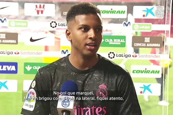 "Rodrygo: ""Podemos ganhar a LaLiga"""