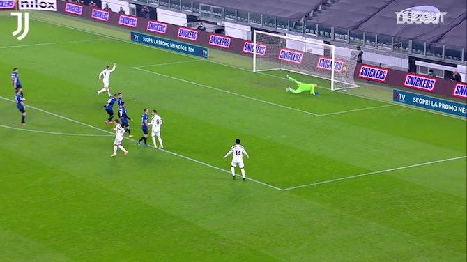 Imagen de vista previa para El golazo de Chiesa ante el Atalanta, mejor gol de la Juventus 20/21
