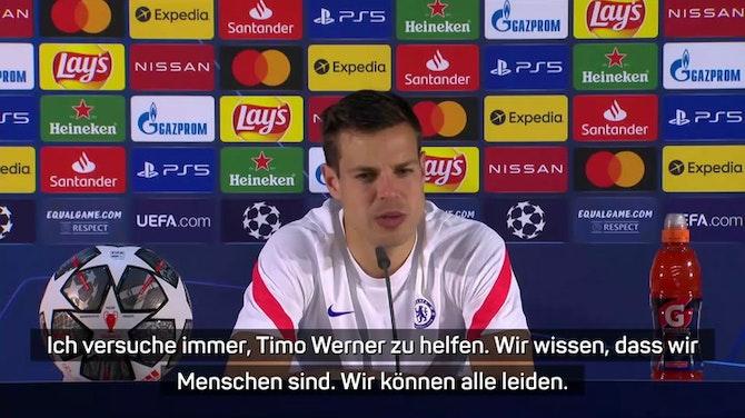 """Vorschaubild für Azpilicueta: """"Werner macht den Unterschied aus"""""""