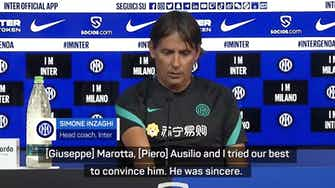 """Preview image for Lukaku leaving Inter was """"unexpected"""" - Inzaghi"""