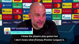 Preview image for 'Unprofessional and unethical' - Guardiola condemns team leaks