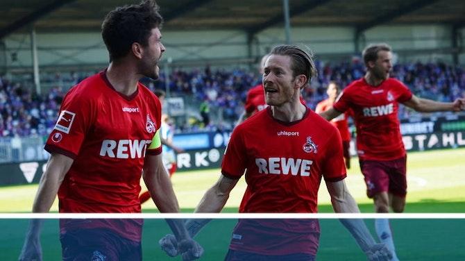 5:1 in Kiel - Köln bleibt erstklassig!