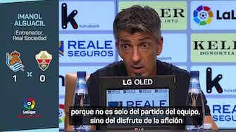 """Imagen de vista previa para Alguacil: """"El equipo no se fija en la clasificación"""""""