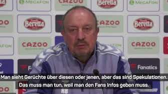 """Vorschaubild für Benitez: """"Denken nicht an Richarlison-Verkauf"""""""