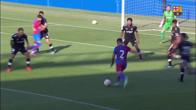 Image d'aperçu pour Barcelone s'impose en amical contre le Gimnàstic de Tarragona