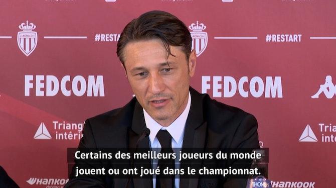"""Image d'aperçu pour Monaco - Kovač : """"Je dois améliorer ma connaissance sur certains clubs de L1"""""""