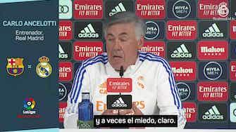 Imagen de vista previa para Ancelotti y su teoría del miedo, el león y el gato