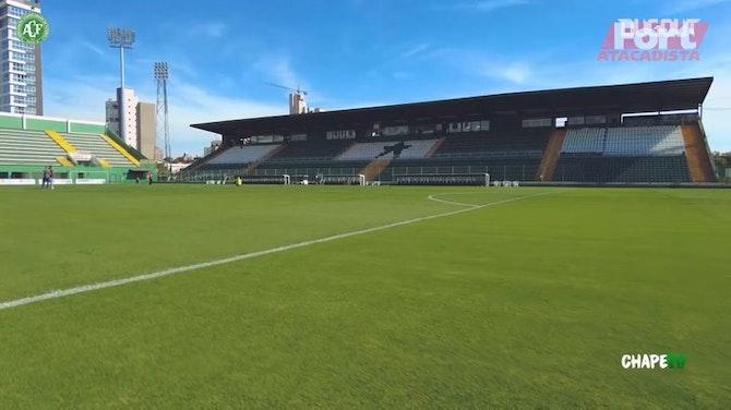 Imagem de visualização para Bastidores da vitória da Chapecoense sobre o Próspera na Arena Condá