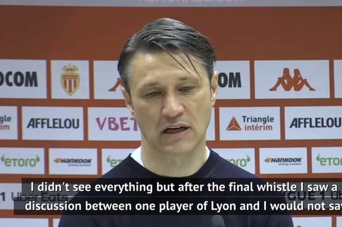 Kovac and Garcia backing players after Monaco-Lyon mass brawl