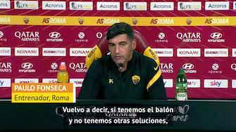 """Imagen de vista previa para Fonseca habló acerca del error de Pau López ante el Milan: """"No estábamos bajo presión"""""""