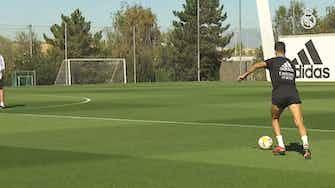 Imagen de vista previa para Toni Kroos en una nueva sesión en la Ciudad Real Madrid