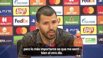"""Imagen de vista previa para Agüero: """"Nunca me he marcado una cifra de goles"""""""